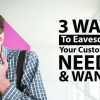 Customers' Needs and Wants