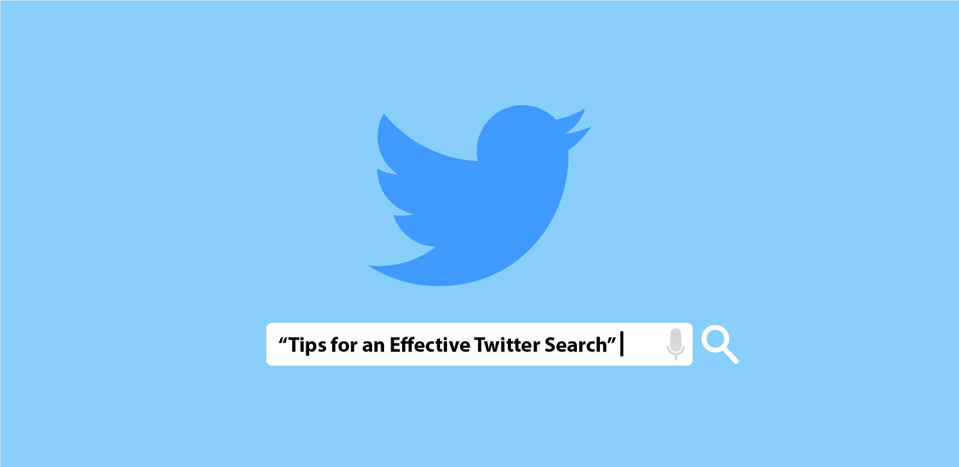 4 Tips For Effective Twitter Search