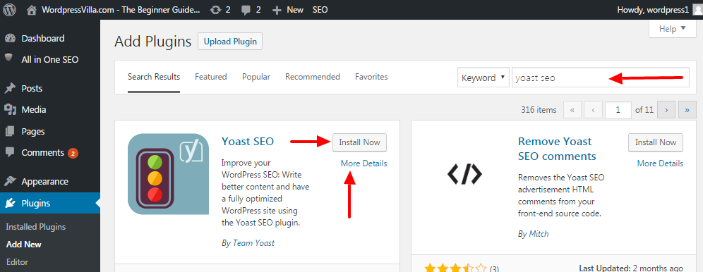 Image result for Installing yoast seo