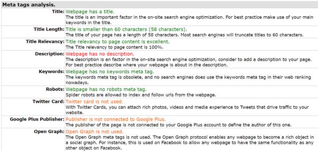 Meta Tag Analyzer : Top free tools for effective seo analysis