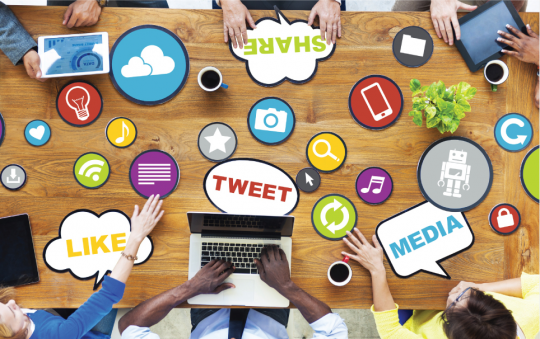 active-on-social-media