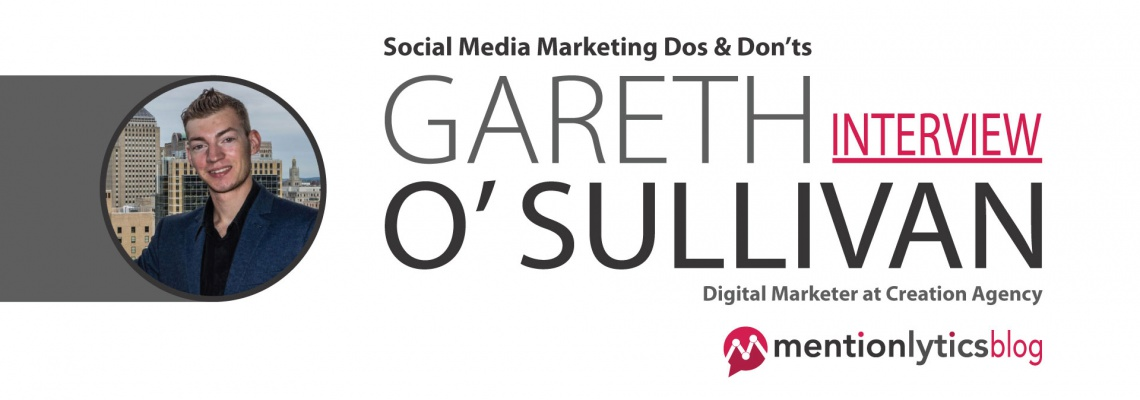 Social Media Marketing Gareth o' Sullivan