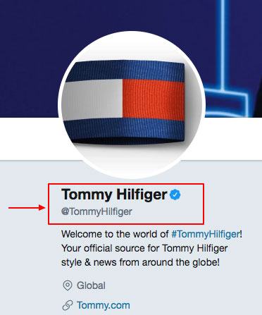 Tommy-Hilfiger-Twitter-account