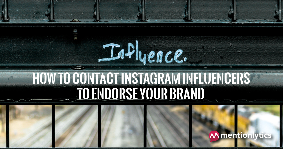 How to contact Instagram influencers to endorse your brand