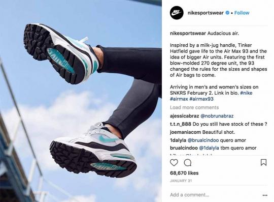 nike-sportswear-Instagram