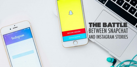 The Battle between Snapchat and Instagram Stories