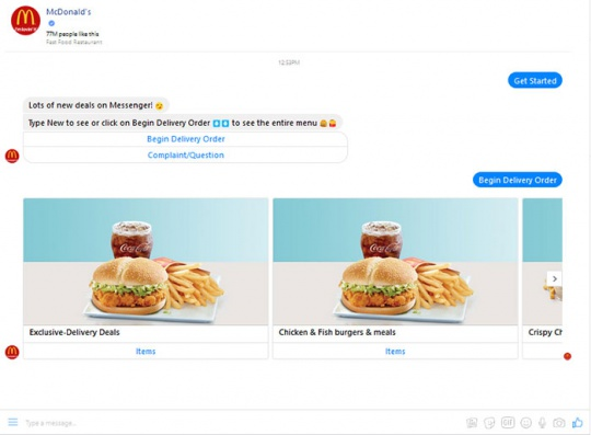 McDonald's-chatbots