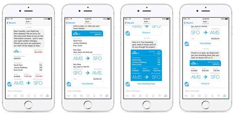 KLM-Facebook-Chatbot Deep Learning