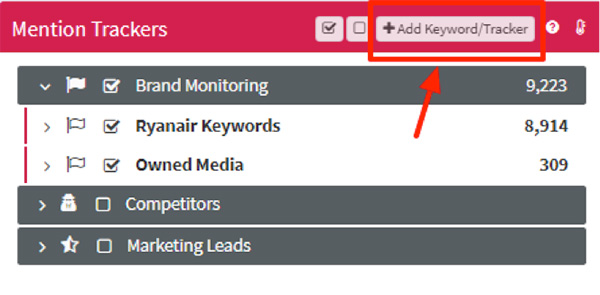 add keyword mentionlytics - Instagram search