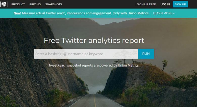 Tweetreach - twitter analytics