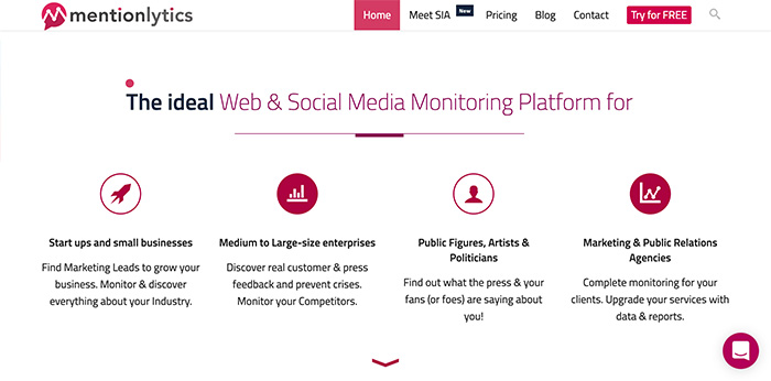Social-Media-Monitoring - Online Reputation Mangement with Mentionlytics