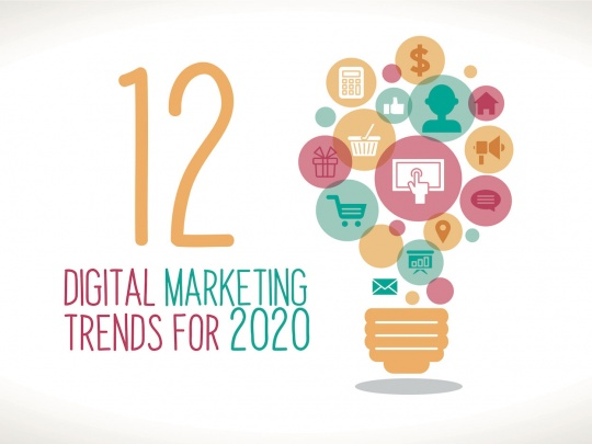 12 Digital Marketing Trends to Watch Out in 2020