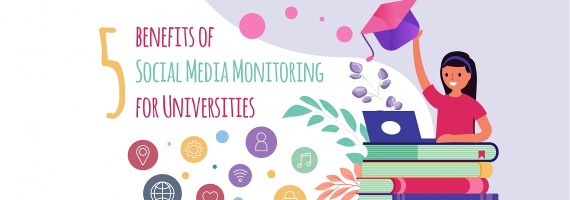 Social Media Monitoring for Universities - Benefits