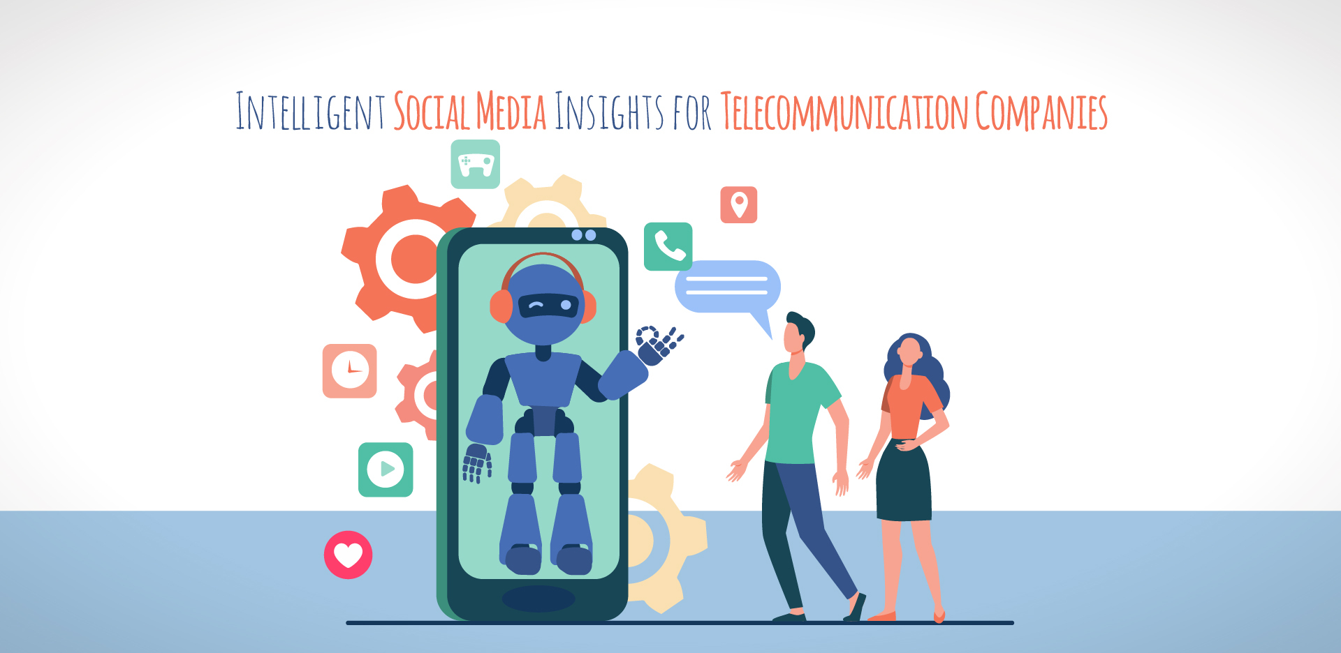 Intelligent Social Media Insights for Telecommunication Companies