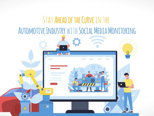 Stay Ahead of the Curve in the Automotive Industry with Social Media Monitoring