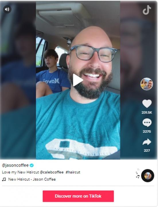 tiktok influencers - Jason Coffee