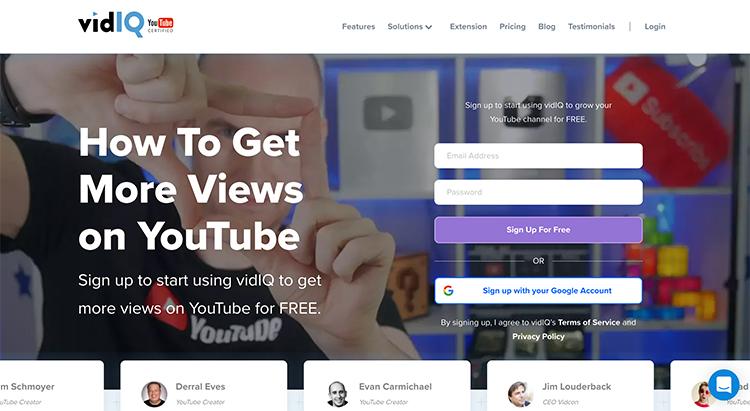 VidIQ-youtube-marketing-tool
