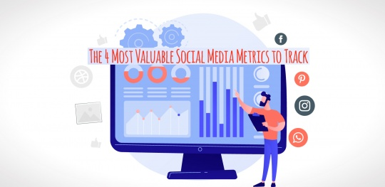 The 4 Most Valuable Social Media Metrics to track