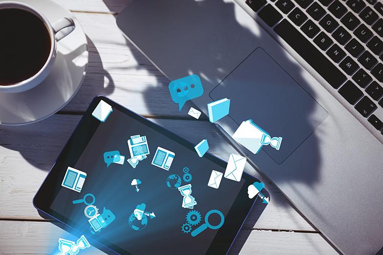 tablet-blue-icons-social-media