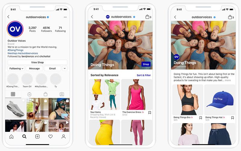 Instagram-Shops