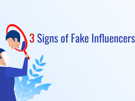 3 Signs of Fake Influencers